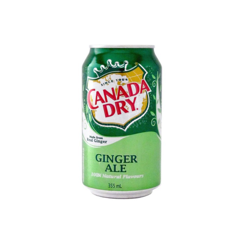 Canada Dry – Ginger Ale 0,355 л