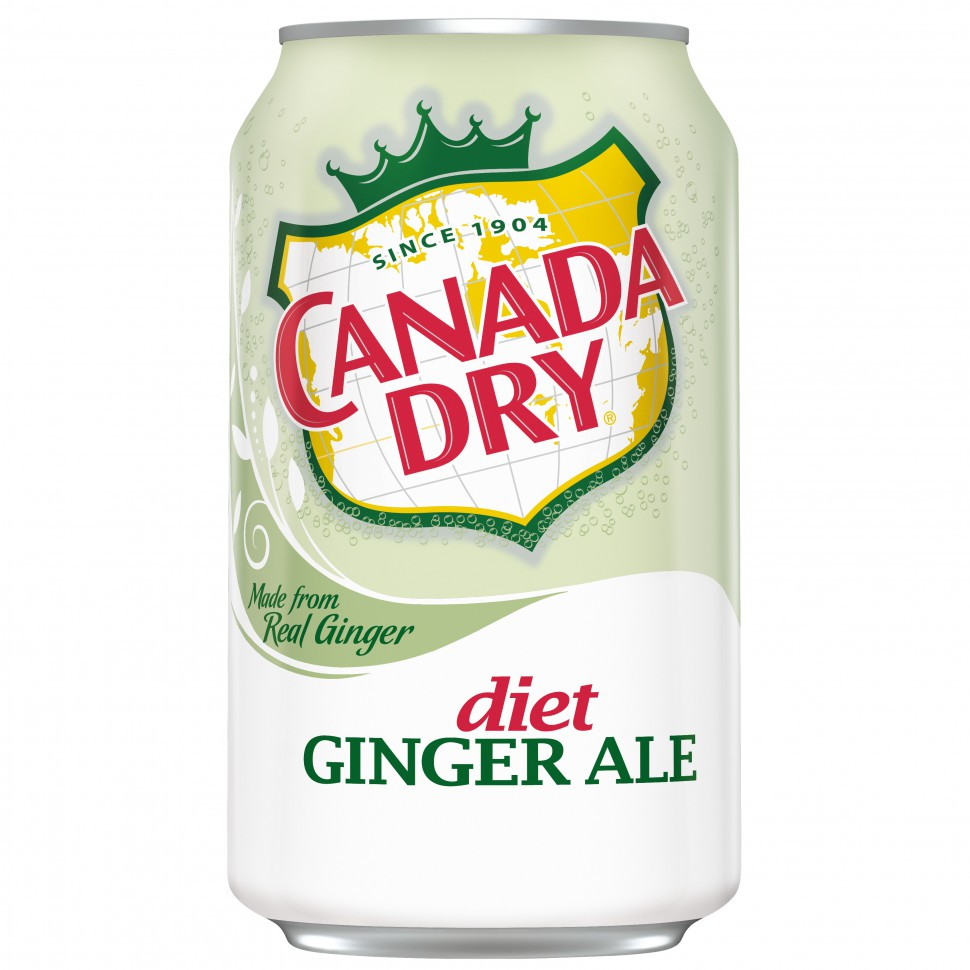 Canada Dry – Diet Ginger Ale 0,355 л
