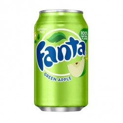 Fanta Green Apple 0,355 мл