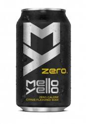 Mello Yello Zero Citrus Soda 0,335 мл