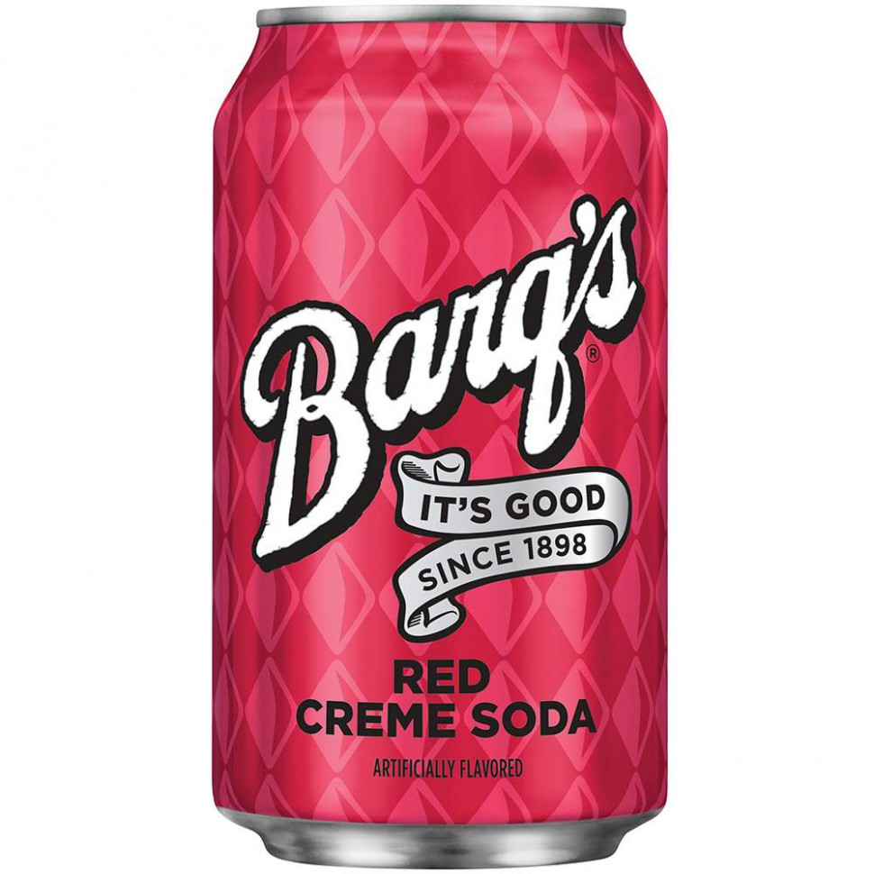 Barq's Crem Soda Red 355 мл