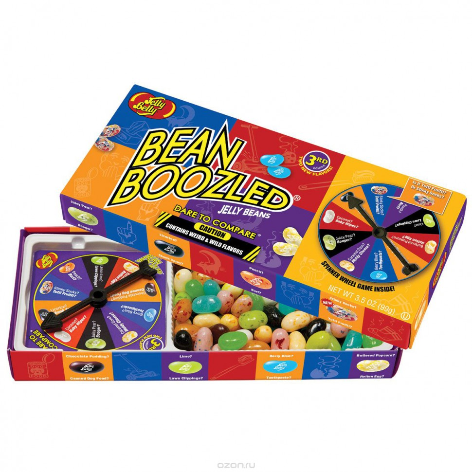 Драже Jelly Belly Bean Boozled 99 гр