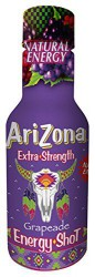 AriZona Energy Shots Grape 200 мл