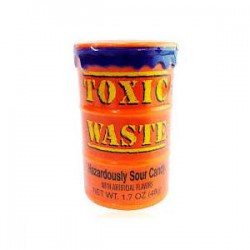 Леденцы Toxic Waste Orange Микс 48 гр