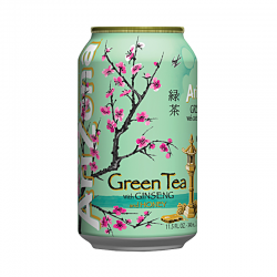 AriZona Green tea Ginseng and Honey 340 мл