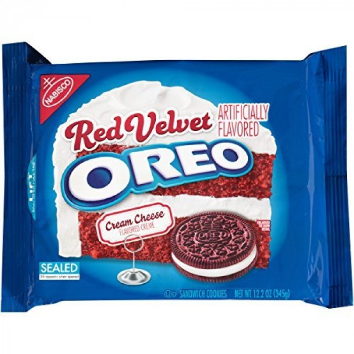Печенье Oreo-Red Velvet Sandwich Cookies 303 гр