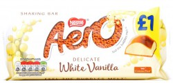 Nestle Aero Milk White Vanilla 100 гр
