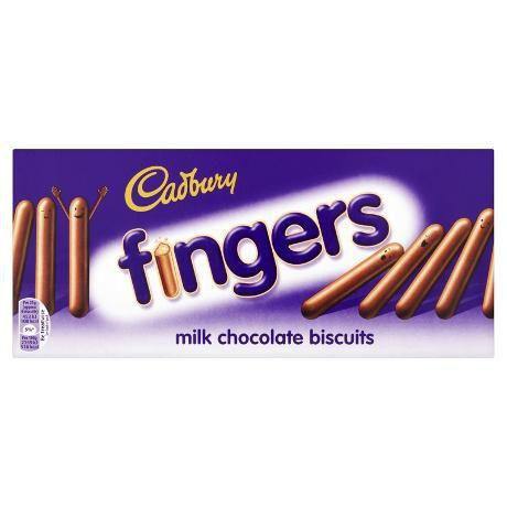 Cadbury Fingers Keepers 114 гр